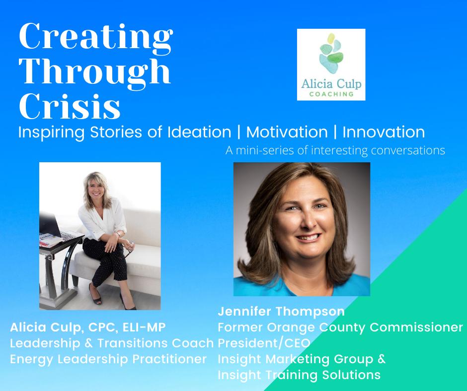 Jennifer Thompson - Creating Through Crisis